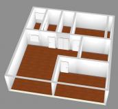 清雅居 3室 2厅 1卫