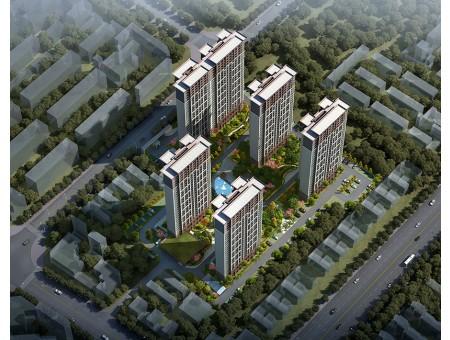 邓州 翡翠城 720全景航拍